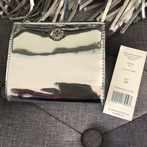 Tory Burch Robinson Mirror Mini Wallet